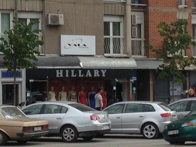 hillary clinton store pristina.JPG