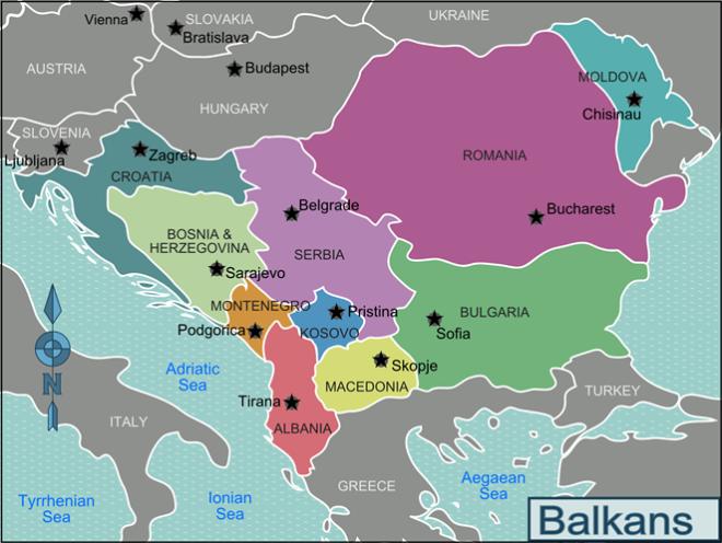 Map-Balkans