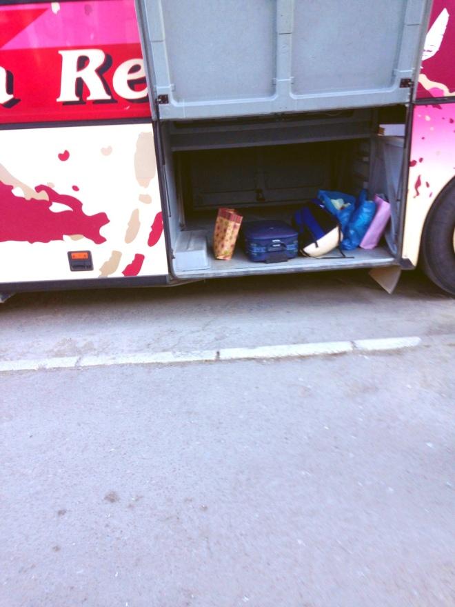 bus storage