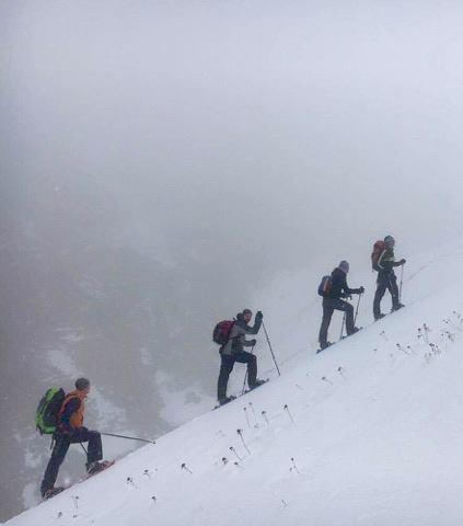 mountain skiing Kosovo