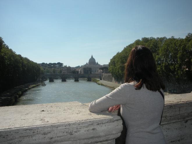 April Gardner Rome Italy