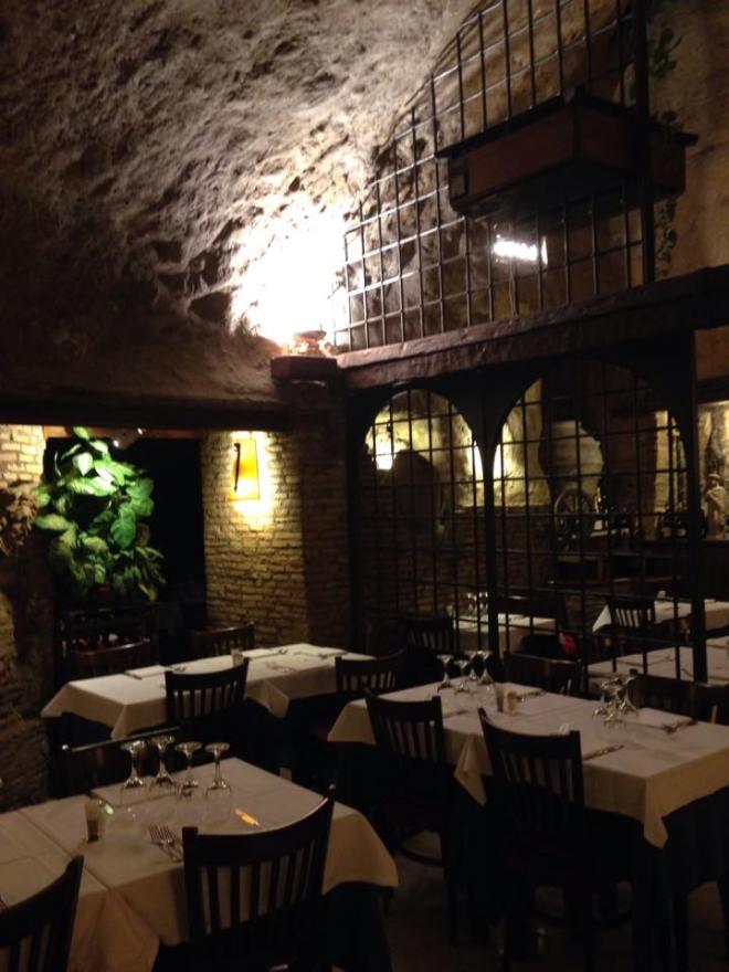 cave restaurant rome 2