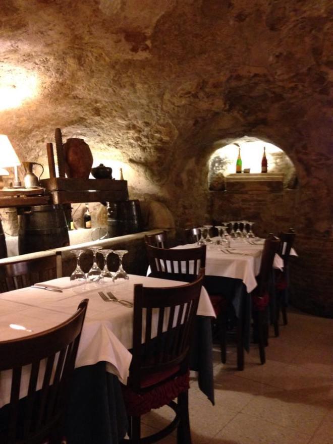cave restaurant rome