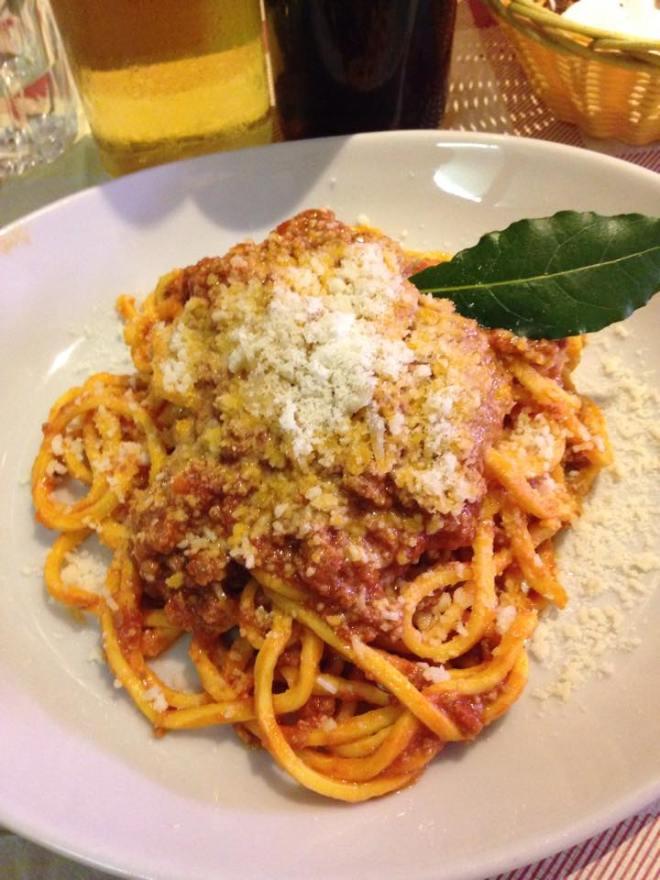 spaghetti in rome