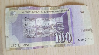Macedonian money 1