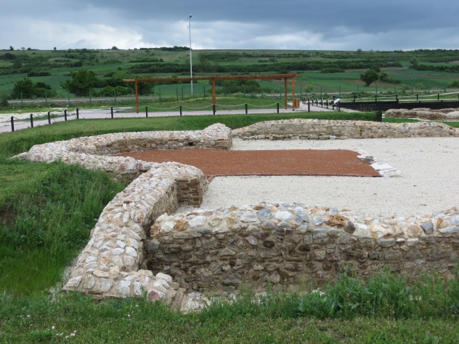 Roman ruins Gracanice Kosovo 2