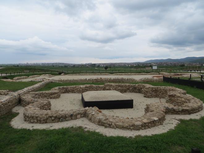Roman ruins Gracanice Kosovo 6