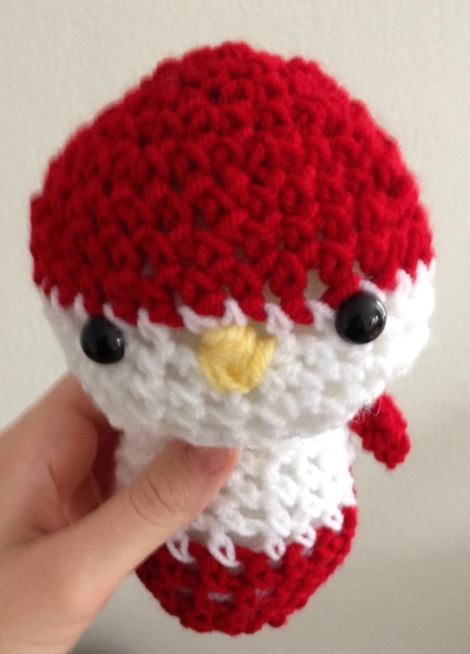 crocheted cardinal.JPG