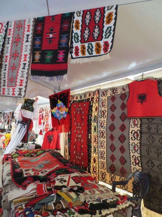 Albanian rugs