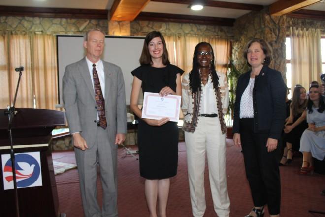 April Gardner Peace Corps Kosovo