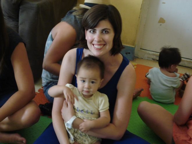 At the Amazing Hands orphanage