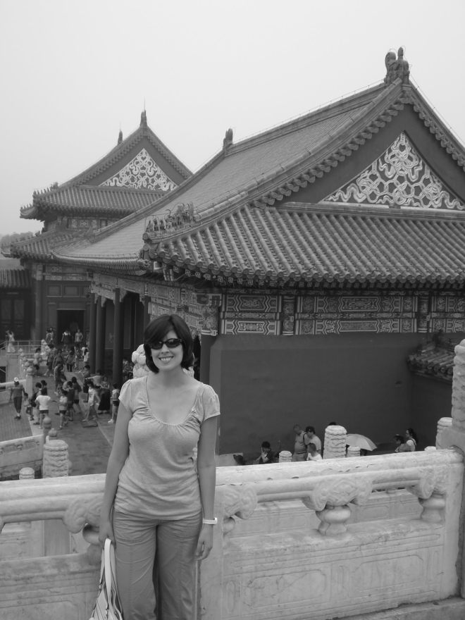 Me in the Forbidden City