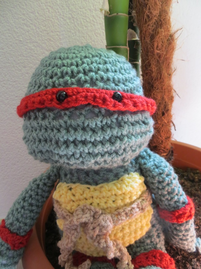 Teenage Mutant Ninja Turtle Crochet project 1