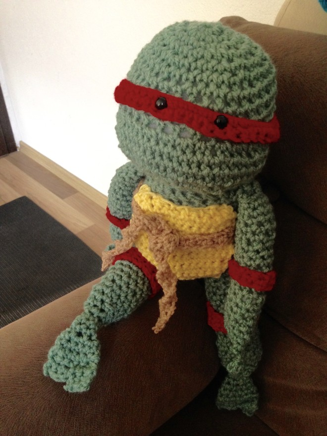 Teenage Mutant Ninja Turtle Crochet project 2
