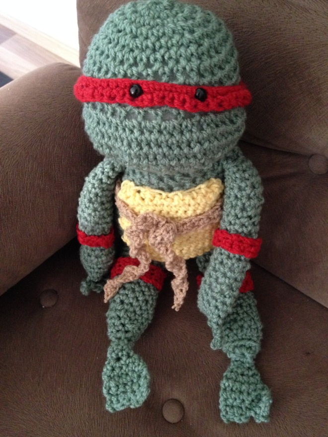 Teenage Mutant Ninja Turtle Crochet project 3