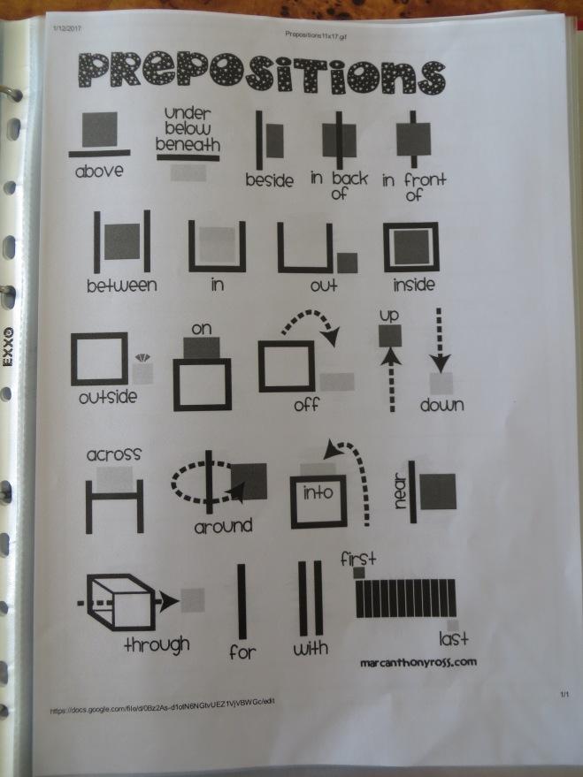 informational sheet