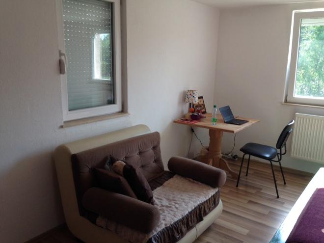 Peace Corps Kosovo bedroom