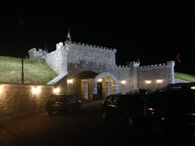 stone castle winery rahovec kosovo
