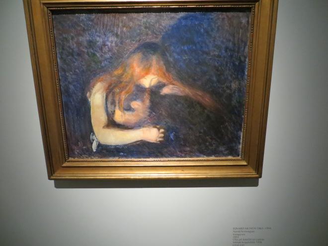 Edvard Munch Vampyre