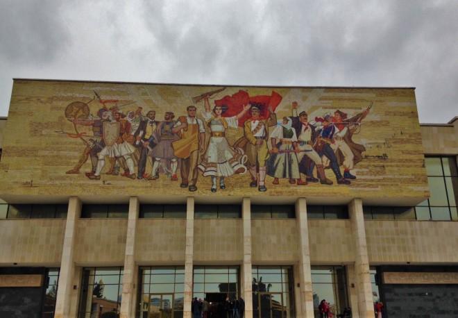 National History Museum Tirana Albania 1