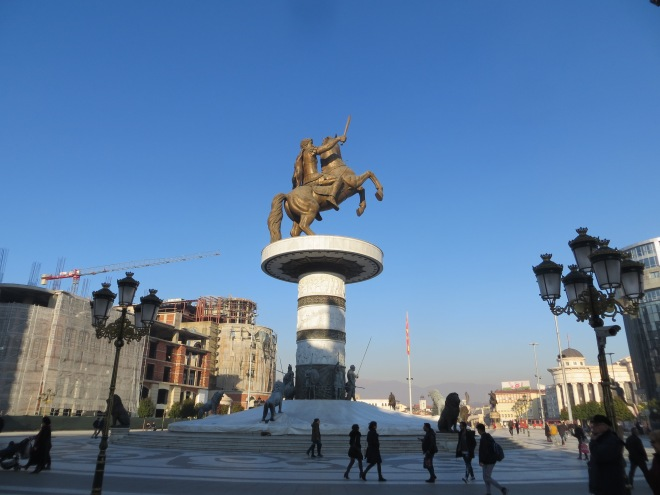 Macedonia Alexander the Great Statue
