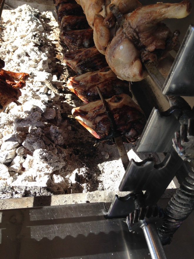 roasting sheep heads Tirana Albania