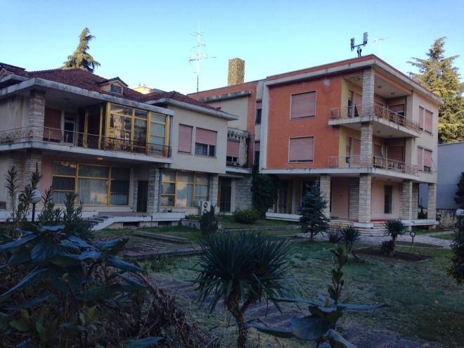enver hoxha house tirana albania
