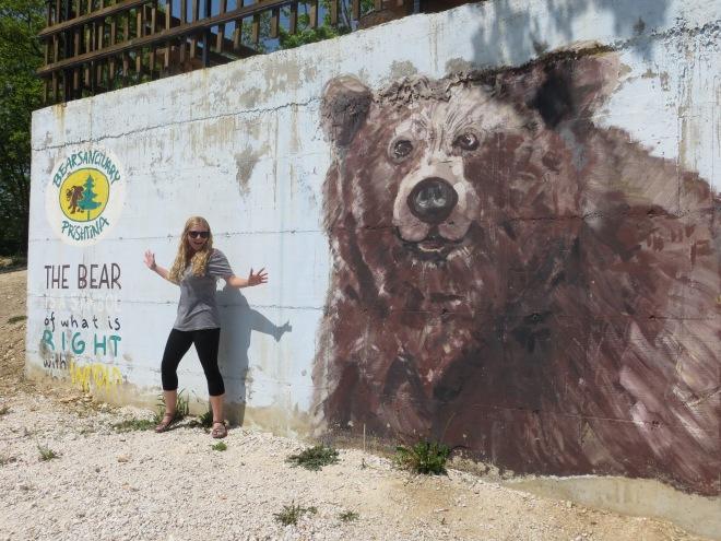 bear mural