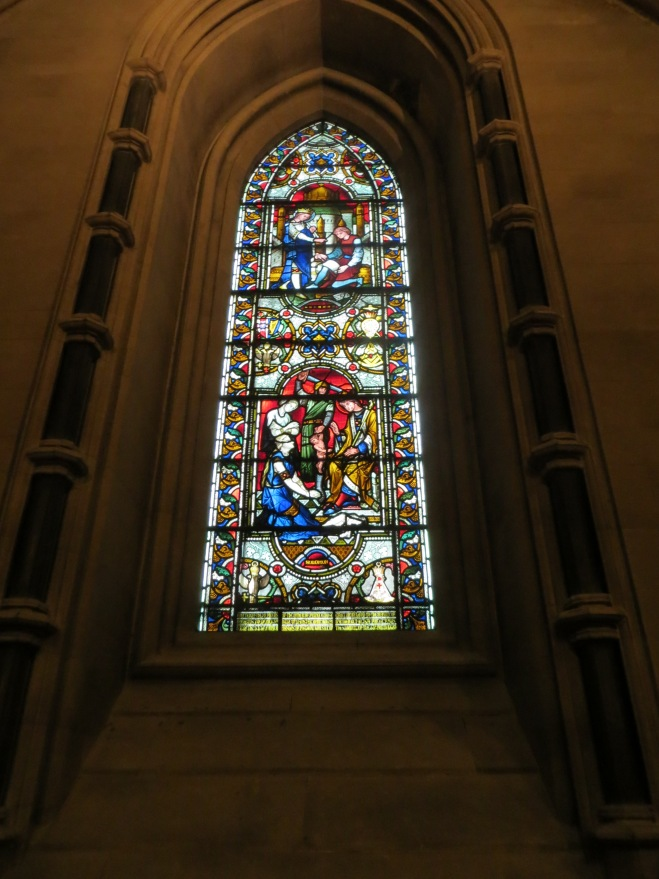 christ church stained glass