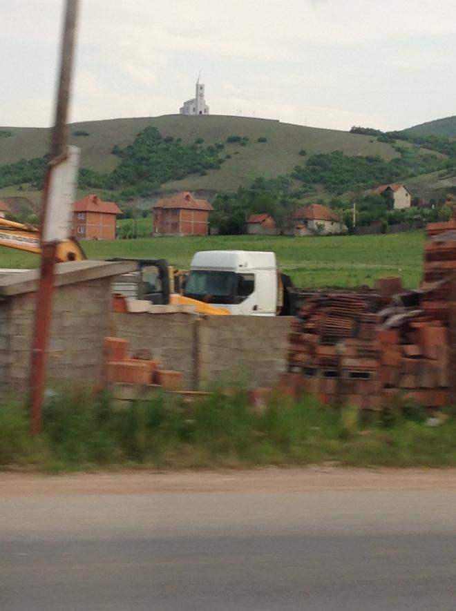 church on a hill kosovo