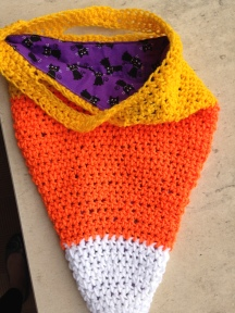 trick or treat Halloween crochet bag 2